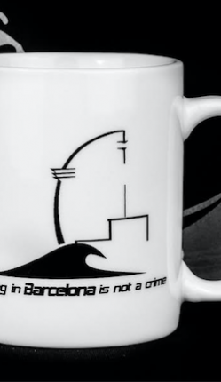 Taza Surfing In Barcelona Is Not A Crime. SURGERE MAGAZINE